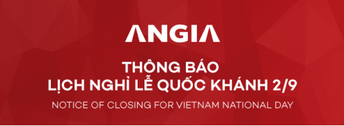 NOTICE OF CLOSING FOR VIETNAM NATIONAL DAY