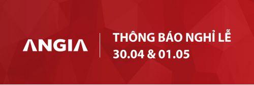 THÔNG BÁO NGHỈ LỄ GIẢI PHÓNG MIỀN NAM 30.04 VÀ QUỐC TẾ LAO ĐỘNG 01.05