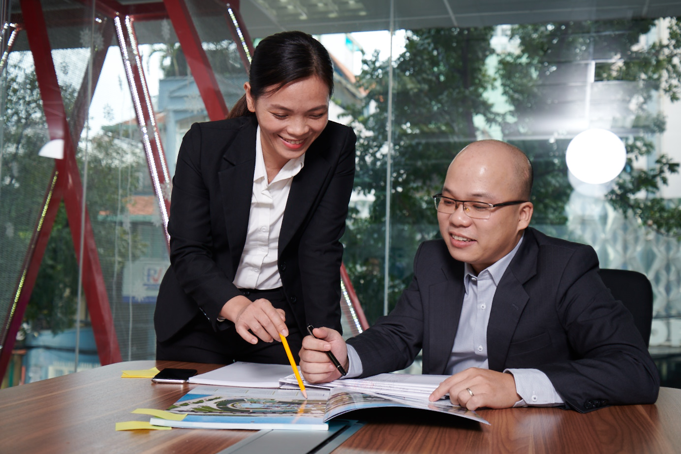 Võ Thị Hằng – Trưởng phòng dự án tổng hợp
